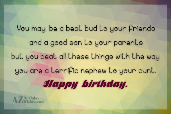 You may be a best bud to… - AZBirthdayWishes.com