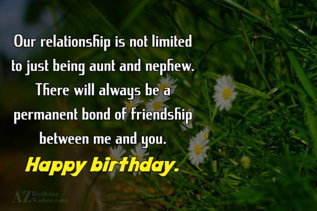 Our relationship is not limited to just… - AZBirthdayWishes.com