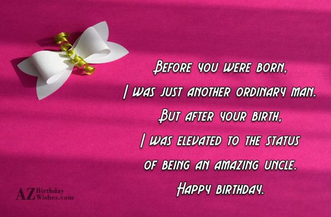 Before you were born, I was just… - AZBirthdayWishes.com