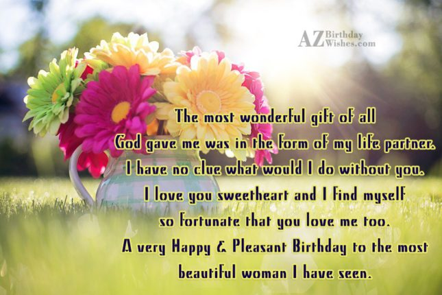The Most Wonderful Gift Of All God