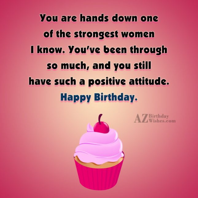 You are hands down one of the… - AZBirthdayWishes.com