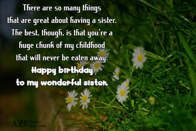 There are so many things that are… - AZBirthdayWishes.com