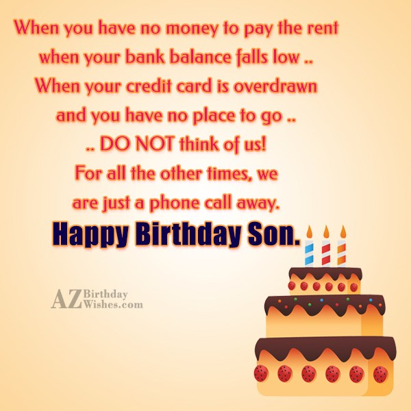 When you have no money to pay… - AZBirthdayWishes.com