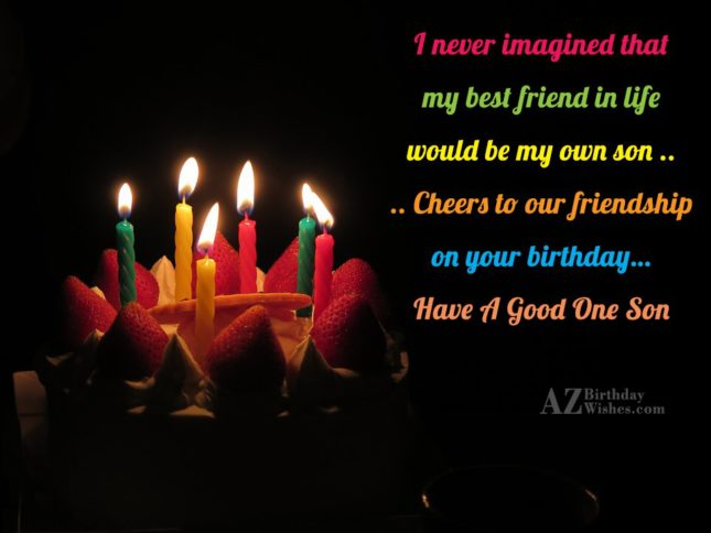 I never imagined thatmy best friend in… - AZBirthdayWishes.com