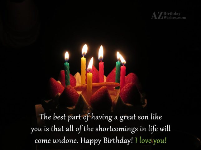 The best part of having a great… - AZBirthdayWishes.com