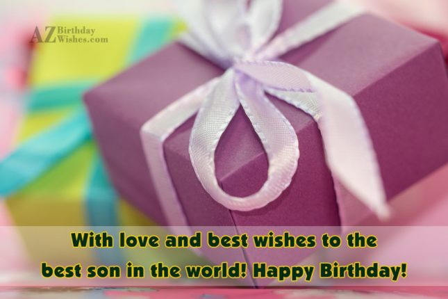 With love and best wishes to the… - AZBirthdayWishes.com