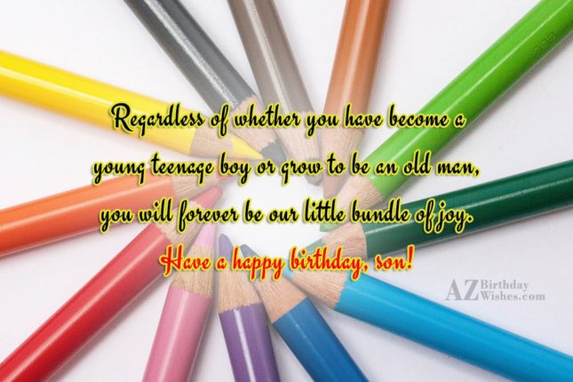 Regardless of whether you have become a… - AZBirthdayWishes.com