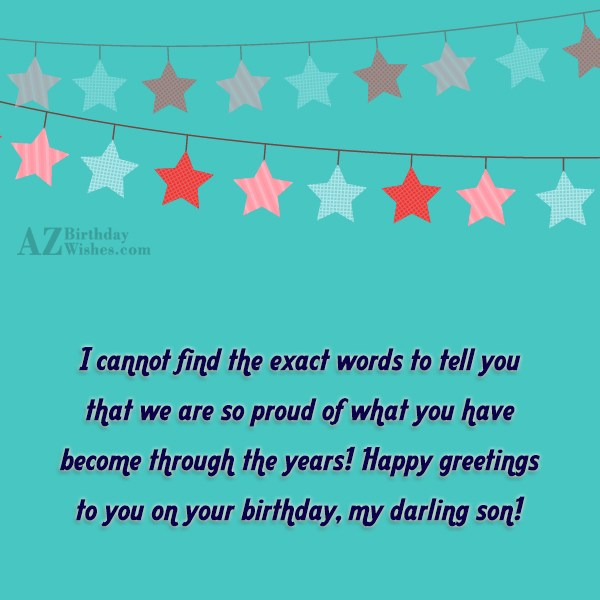 I cannot find the exact words to… - AZBirthdayWishes.com