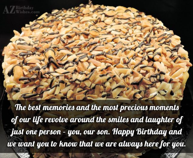 The best memories and the most precious… - AZBirthdayWishes.com