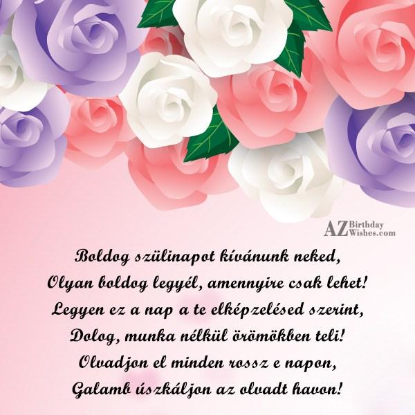 boldog szülinapot kívánunk Boldog Szülinapot Kívánok Neked — YinHe438 boldog szülinapot kívánunk