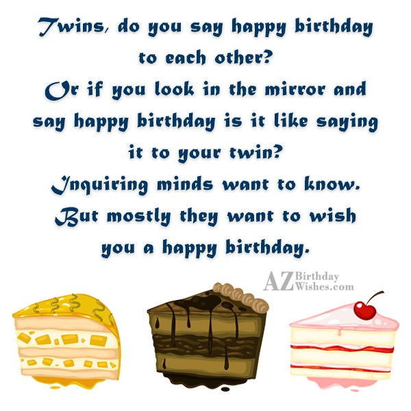 Birthday wishes for twins download m4hsunfo