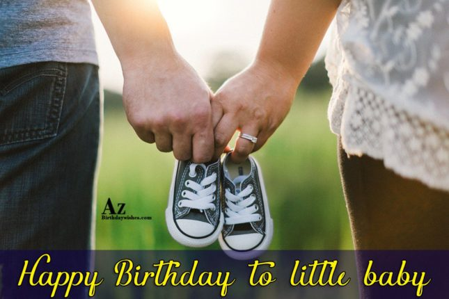 Happy birthday to little  baby - AZBirthdayWishes.com