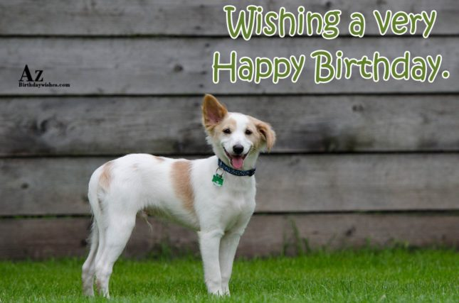 Wishing a very Happy birthday - AZBirthdayWishes.com