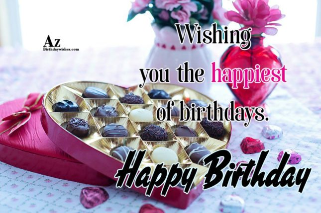 Wishing you the biggest of birthdays Happy birthday - AZBirthdayWishes.com