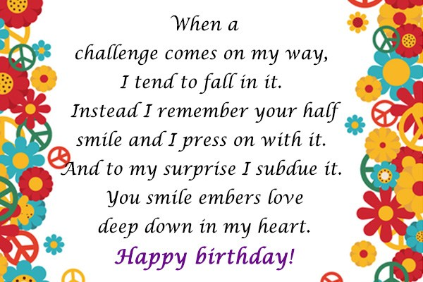 When a challenge comes on my way, I tend to fall in it - AZBirthdayWishes.com