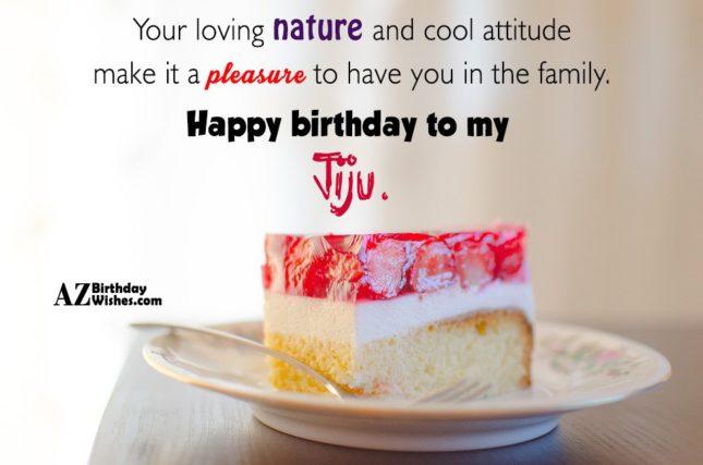 Birthday Wishes For Jiju Jija Ji