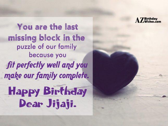 Happy Birthday Dear Jijaji Azbirthdaywishes 6891