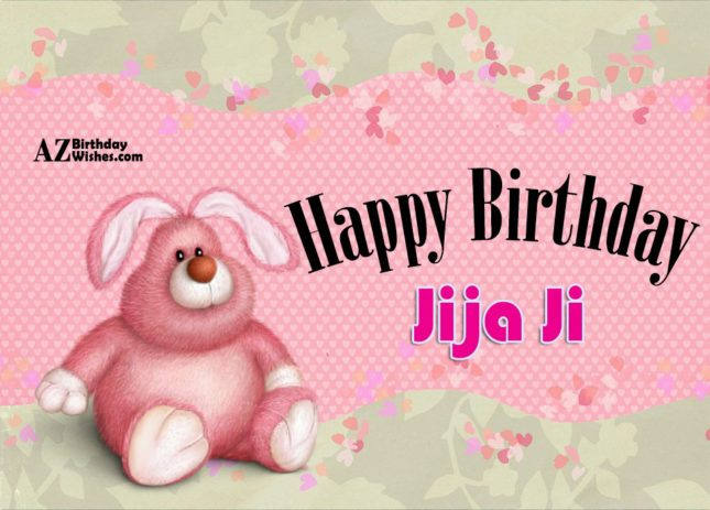 Happy birthday jija ji - AZBirthdayWishes.com