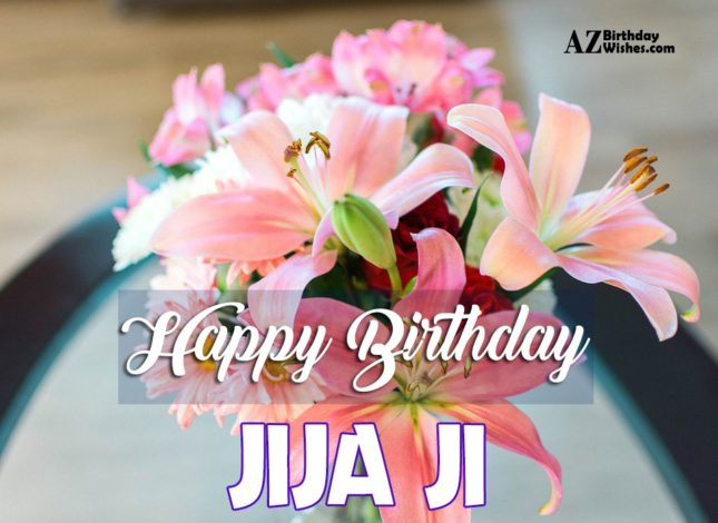 Birthday Wishes For Jiju, Jija Ji