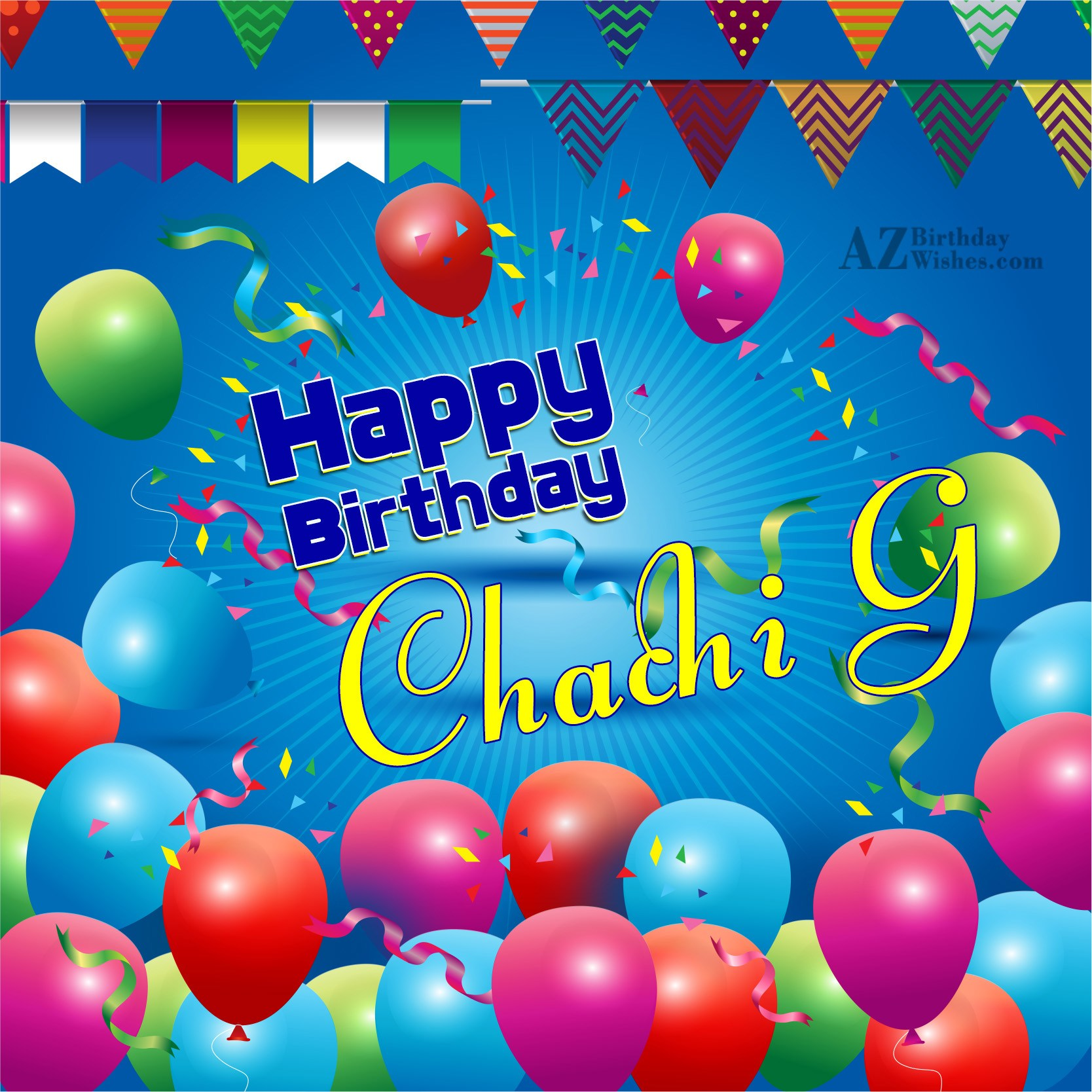Happy Birthday To My Dear Chachi Ji
