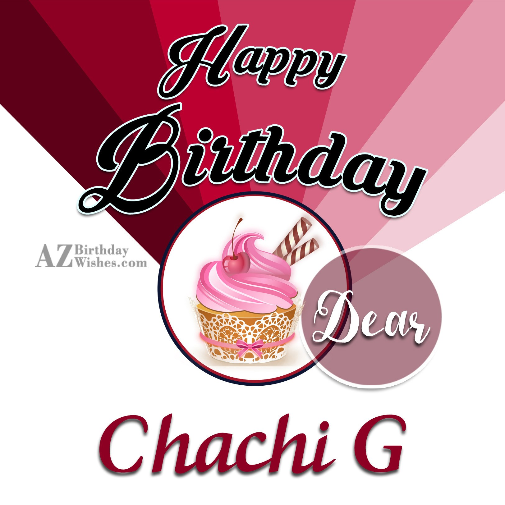 Happy Birthday Chachi G
