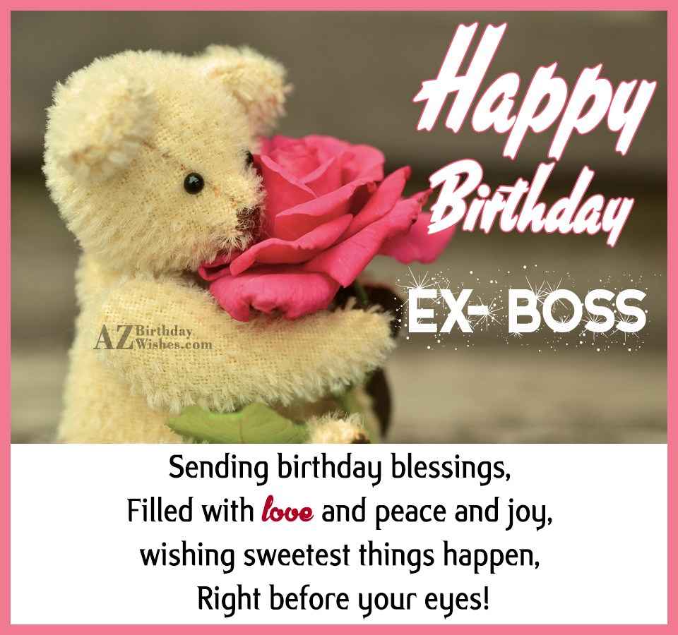 Birthday Wishes For Ex Boss Page 2