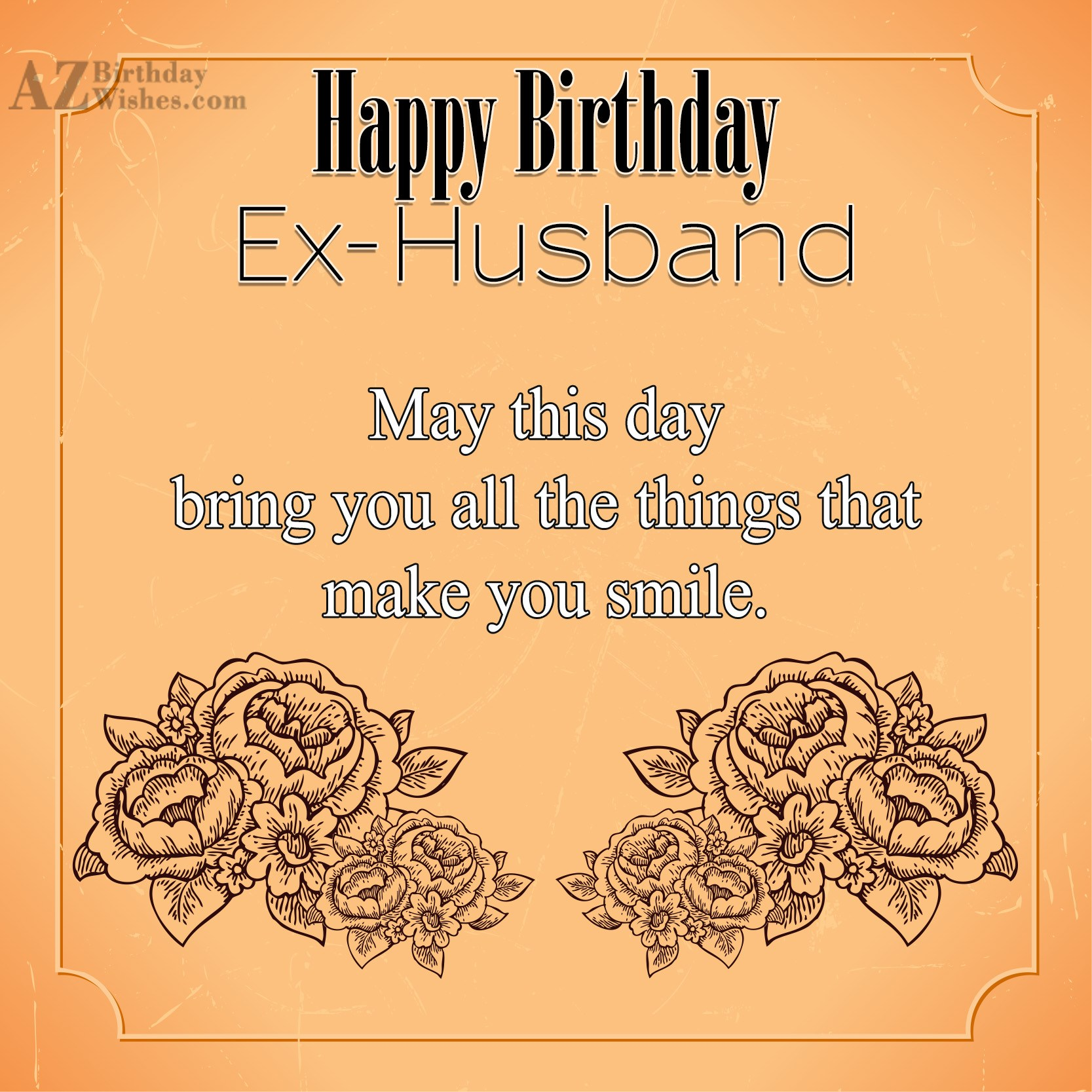 Birthday Ecards For Husband ~ Birthday wishes for ex husband page