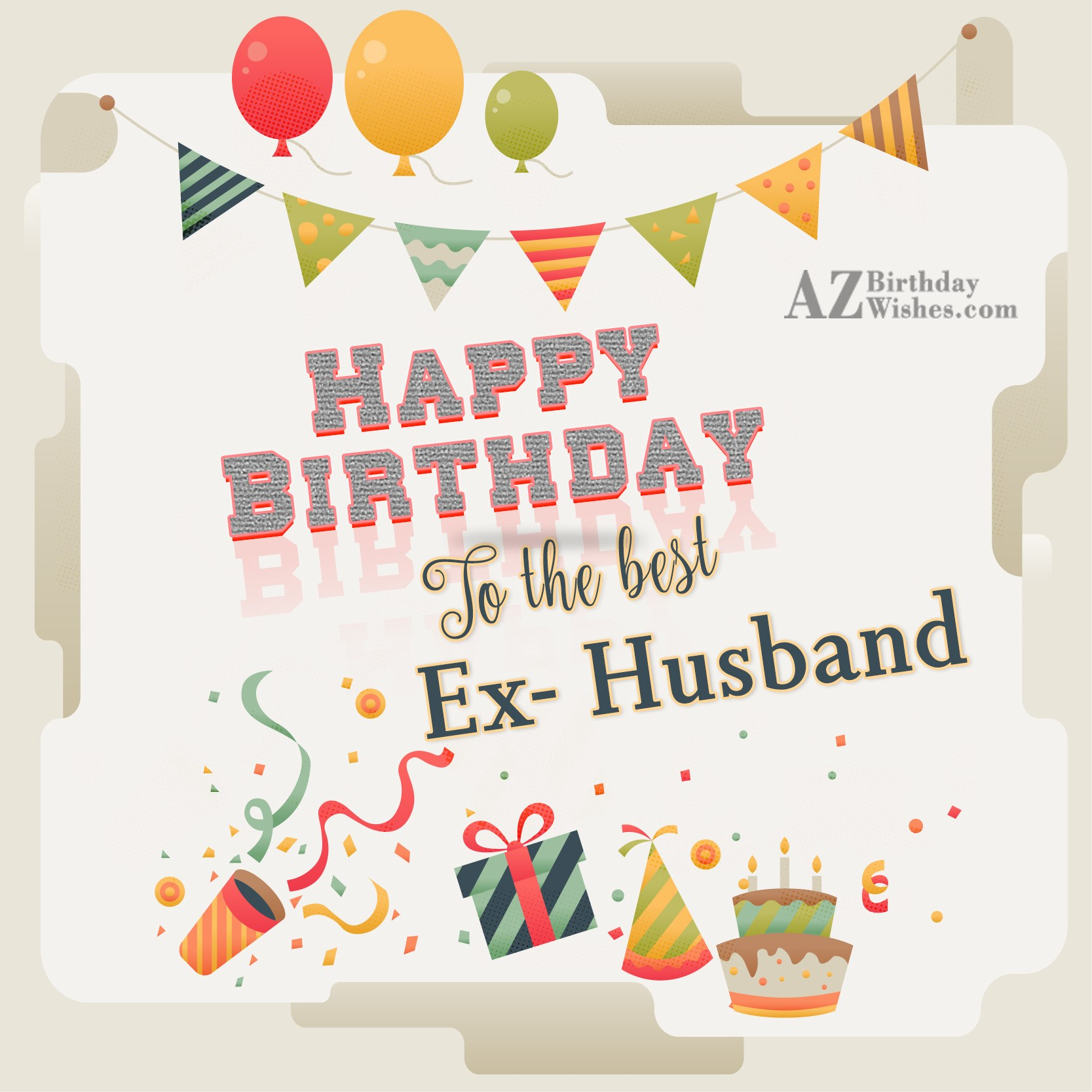 Birthday Wishes For Ex Husband