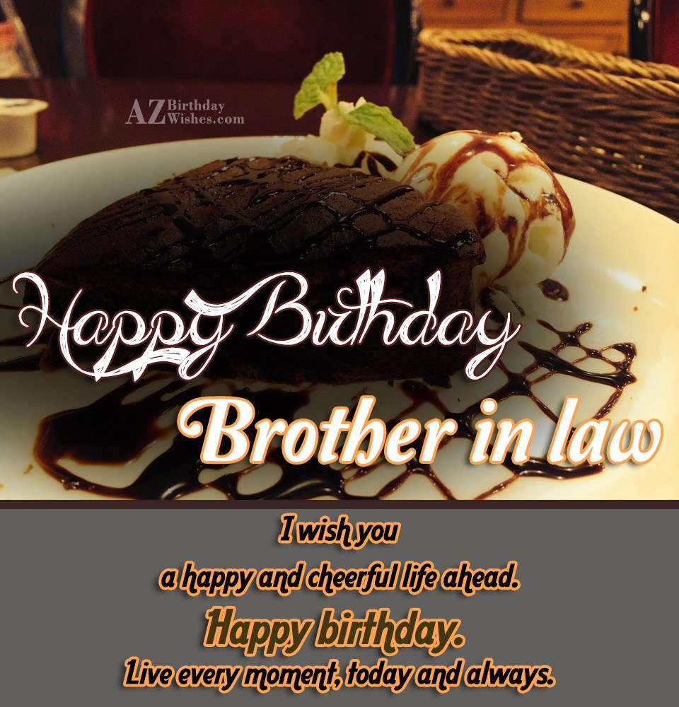 Birthday Wishes For Brother-In-Law - Page 2