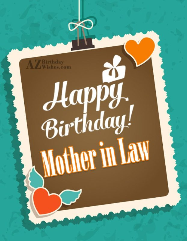 It's a very big day for you happy birthday to my lovely mother in law - AZBirthdayWishes.com