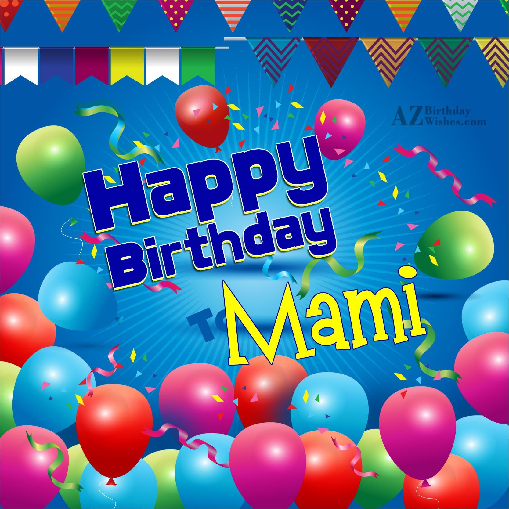 Birthday Wishes For Mami Ji