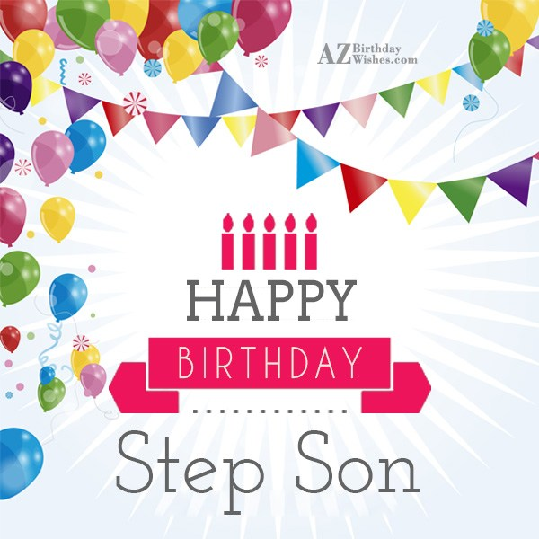 Happy birthday to one of my favorite step mother - AZBirthdayWishes.com