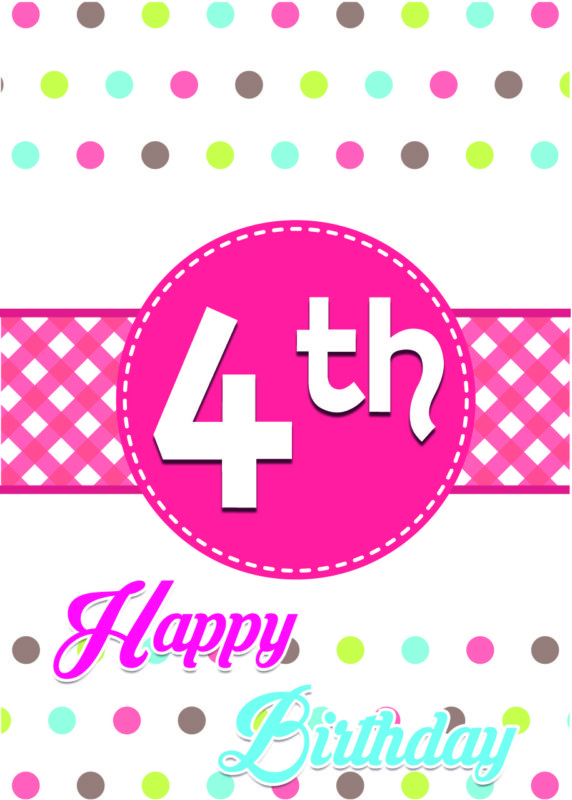 Happy 4th birthday… - AZBirthdayWishes.com