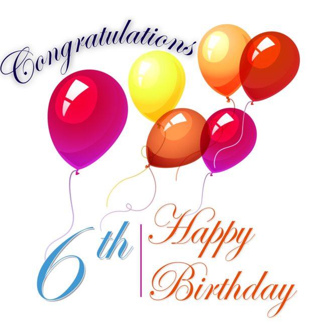 6th birthday wish… - AZBirthdayWishes.com