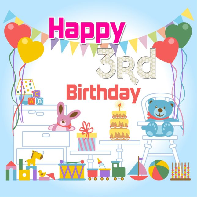 3rd birthday wish… - AZBirthdayWishes.com