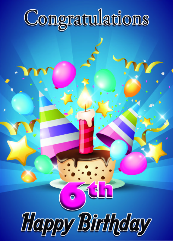 6th birthday wish… - AZBirthdayWishes.com