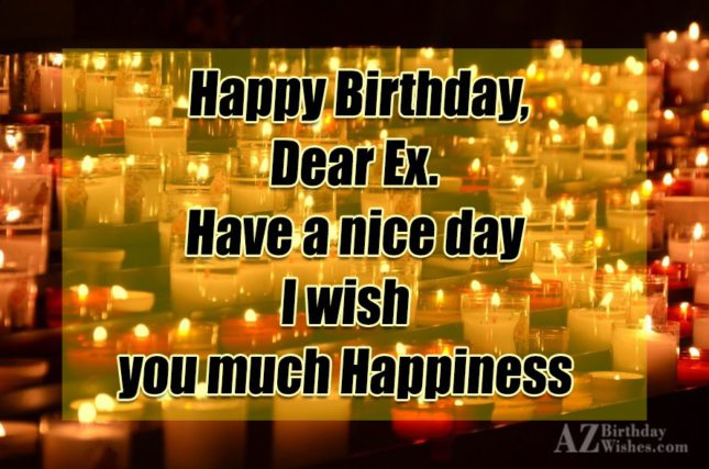 I wish you much happiness… - AZBirthdayWishes.com