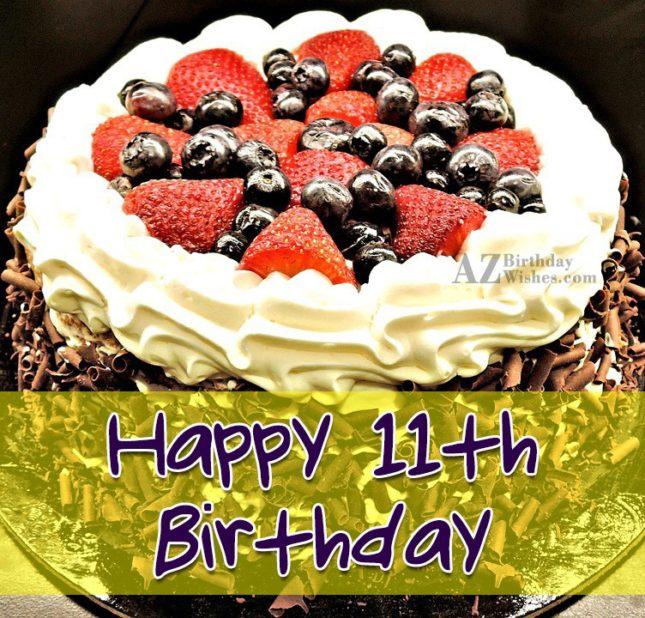 11th birthday wishes… - AZBirthdayWishes.com