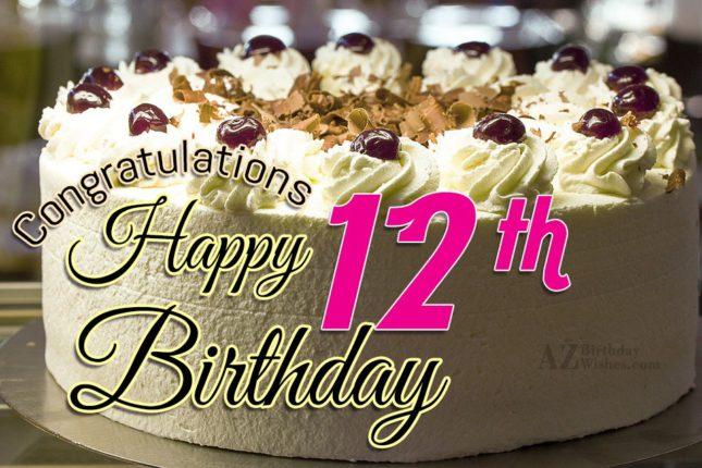 12th birthday wishes… - AZBirthdayWishes.com