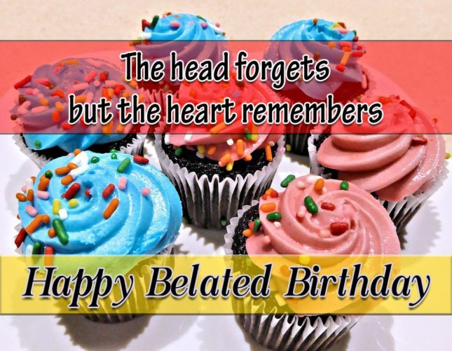 The head forgets but… - AZBirthdayWishes.com