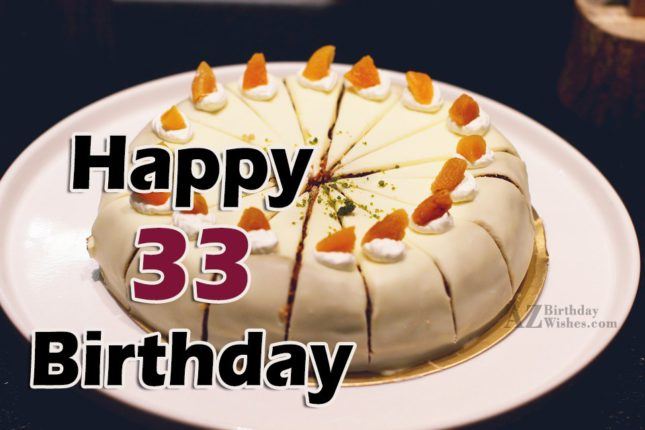 33rd birthday wishes for girl… - AZBirthdayWishes.com