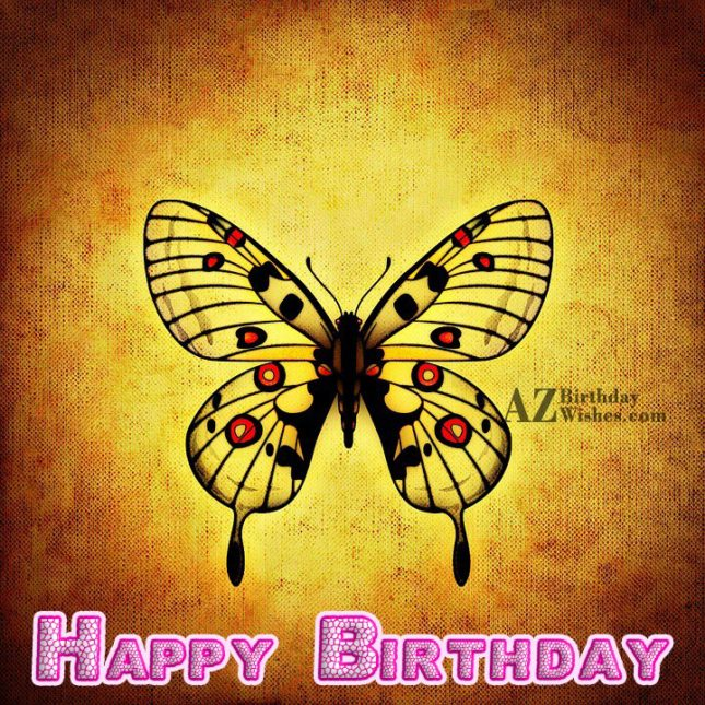 Happy birthday wish… - AZBirthdayWishes.com