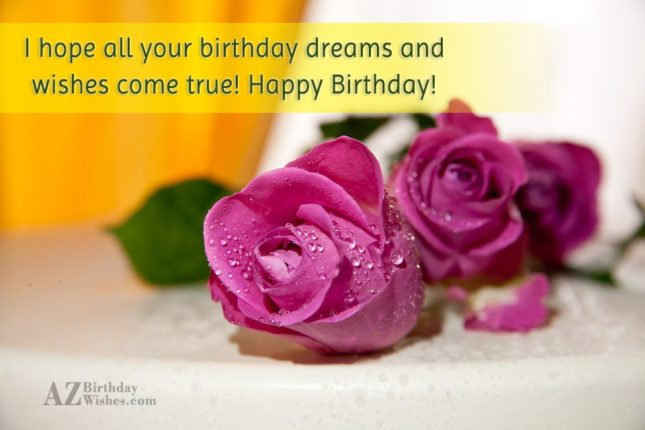 birthday greetings with Pink roses… - AZBirthdayWishes.com