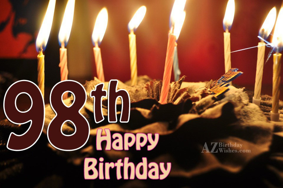 98th birthday wishes