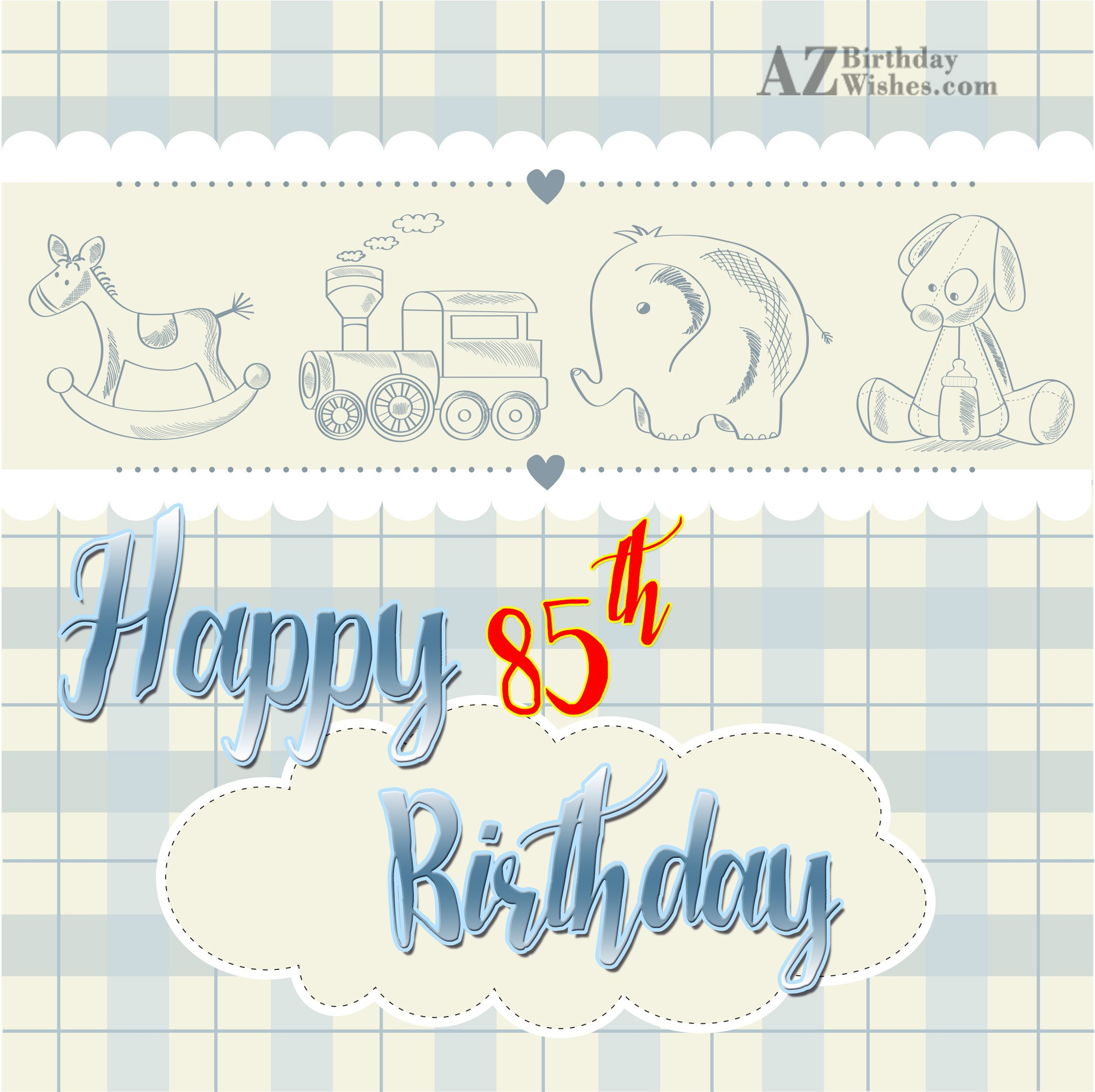 85th Birthday Wishes