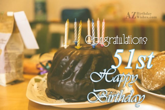 51st birthday wishes… - AZBirthdayWishes.com