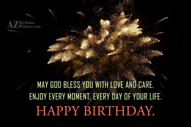 May god bless you with… - AZBirthdayWishes.com