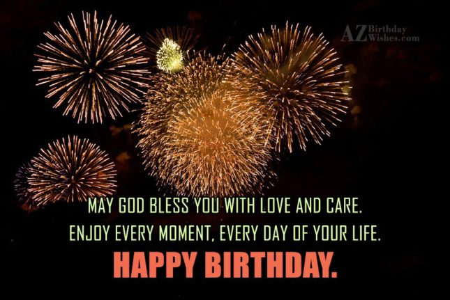 May god bless you… - AZBirthdayWishes.com