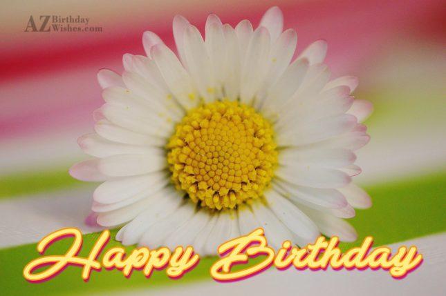 Birthday wish… - AZBirthdayWishes.com