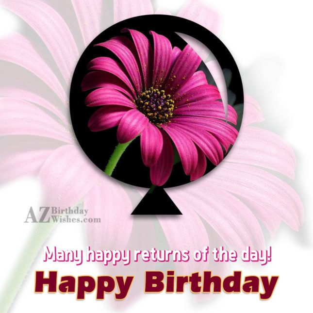 Many happy returns… - AZBirthdayWishes.com